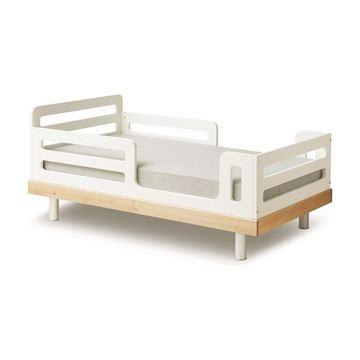 מיטת מעבר Classic עץ בהיר