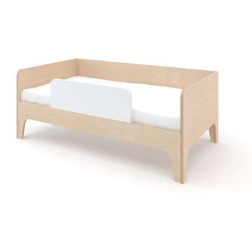 מיטת מעבר עץ בהיר
