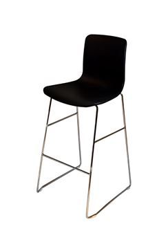 כסא בר E-Bar שחור