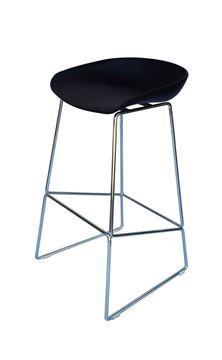 כסא בר E-Shell שחור