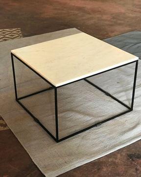 שולחן שיש 60/60