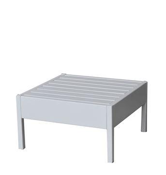 שולחן לבן ריהוט חוץ