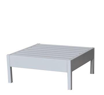 שולחן L לבן - ריהוט חוץ