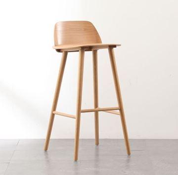 כסא בר SWADE גוון טבעי